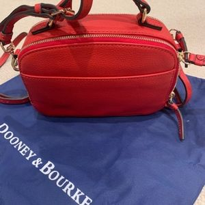 Red Red Red Dooney & Bourke Cross Body Bag